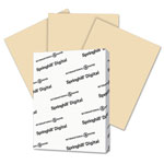 Springhill Digital Vellum Bristol Color Cover, 67 lb, 8 1/2 x 11, Tan, 250 Sheets/Pack