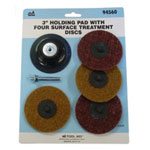 "SG Tool Aid 3"" Holding Pad with Four Surface Treatment Discs"