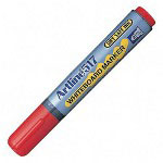 Shachihata. U.S.A. Whiteboard Markers, Bullet Point, Red
