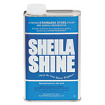 Sheila Shine Stainless Steel Cleaner & Polish, Quart Can