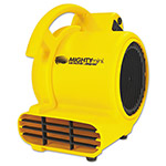 "Shop Vac Mini Air Mover, Yellow, 8"", Plastic, 500 cfm"