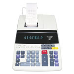 Sharp EL1197PIII Two Color Print Desktop Calculator, Twelve Digit Fluorescent