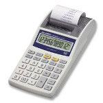Sharp EL1611P 1 Color Portable Printing Calculator, Twelve Digit LCD