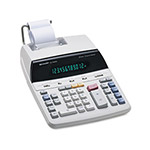 Sharp EL2192RII Two Color Roller Printing Calculator, Twelve Digit Fluorescent Display, AC