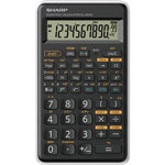 Sharp EL501X Scientific Calculator, Black/Green