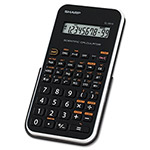 Sharp EL501X Scientific Calculator, Black/White