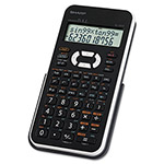 Sharp EL-531XBWH Scientific Calculator, 12-Digit LCD