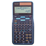Sharp EL-W535TGBBL Scientific Calculator, 16-Digit LCD