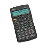 Sharp ELW535B Printing Scientific Calculator, Black