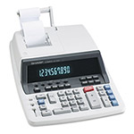 Sharp QS1760H Two Color Commercial Ribbon Printing Calculator, 10 Digit, Tax/Margin