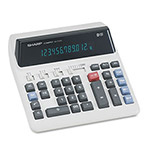 Sharp QS2122H Commercial Desktop Calculator, Twelve Digit Display, AC Only
