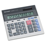 Sharp QS2130 Commercial Desktop Calculator, Battery/Solar, Twelve Digit LCD Display