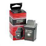 Sharp Black Ink Cartridge for UX 2200CM/2700CM Fax Machines