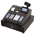 Sharp Cash Register, 8-Line Display, Black