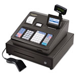 Sharp Cash Register, 8-Line Display, Hand Held Scanner, Black