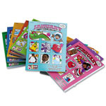 Scholastic Monthly Idea Books Set, January-December, Grade Pre K-6, Paperback, 144 Pages