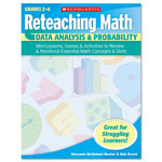 Scholastic Reteaching Math, Data Analysis And Probability, Grades 2 To 4