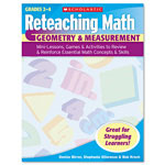 Scholastic Reteaching Math, Geometry And Measurement, Grades 2 To 4