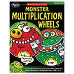 Scholastic Monster Multiplication Wheels, Grades 2 To 4