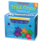 Scholastic Trait Crate, Grade 3, 7 Books, Posters, Folders, Transparencies, Stickers