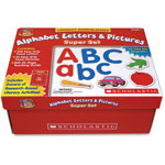 Scholastic Little Red Tool Box, Alphabet Letters/Pictures Super Set