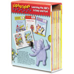 Scholastic AlphaTales Grade K-1 Learning Library Set, Softcover, 128 pages