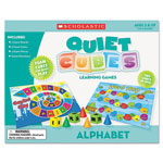 Scholastic Alphabet Quiet Cubes, Pre-K-2, w/Activity Guide