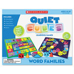 Scholastic Word Family Quiet Cubes, K-3, Activity Guide