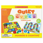 Scholastic Number Learning Quiet Cubes, PreK-2, Activity Guide