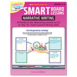 Scholastic Smart Board&Trade; Lessons With Cd, Writing, Grades 3-6, 48 Pages