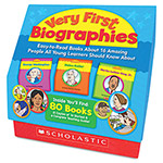 Scholastic Very First Biographies, Eight Pages/16 Books And Teaching Guide, Prek-K, Grades Pre K-1
