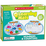 Scholastic Learning Mats, Numbers/Counting, 70 Pieces,