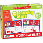 "Scholastic Learning Mats, Word Families, 1""4"" x 9"", Multi"