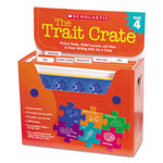 Scholastic Trait Crate, Grade 4, Seven Books, Posters, Folders, Transparencies, Stickers