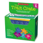 Scholastic Trait Crate, Grade 1, Six Books, Learning Guide, CD, More