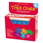 Scholastic Trait Crate, Kindergarten, Six Books, Learning Guide, CD, More
