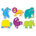 Scholastic Jingle Jungle Animals Accents, Assorted Shapes and Colors, 36/Pack