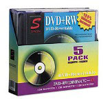Simon Labels DVD+Rw, 4X, Jewel Case