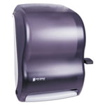 San Jamar Lever Action Hard Roll Paper Towel Dispenser, Black