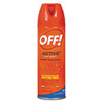 OFF! ACTIVE Insect Repellent, 6 oz Aerosol, 12/Carton