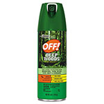 OFF! Deep Woods Insect Repellent, 6oz Aerosol, 12/Carton