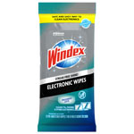 Windex Electronics Cleaner, 25 Wipes, 12 Packs Per Carton