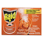 Raid Concentrated Deep Reach Fogger, 1.5 oz Aerosol Can, 3/Pack, 12 Packs/Carton