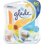 Glade Plug-ins Scented Oil Refill, 1.34oz., 12/CT, Linen