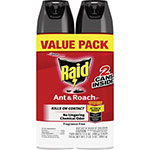 Raid Ant and Roach Spray, 17.5 oz., 2/PK, Fresh Scent