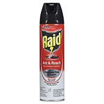 Raid Fragrance Free Ant & Roach Killer, 17.5 oz Aerosol Can, 12/Carton