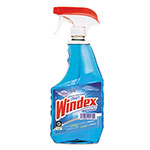 Windex Powerized Formula Glass & Surface Cleaner, 32oz Trigger Spray Bottle,12/Carton