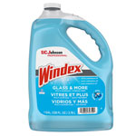 Windex Powerized Formula Glass & Surface Cleaner, 1 gal Bottle, 4/Carton