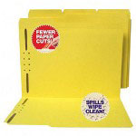 S And J Paper / Gussco Water Resistant & Paper Cut Resistant Colored File Folders
