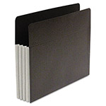 S And J Paper / Gussco Fusion Pocket, 3 1/2 Inch Expansion, 9 1/2 x 11 3/4, Letter, Gray